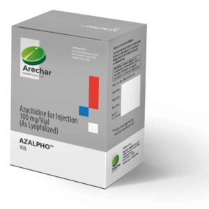 Azalpho Azacitidine lyophilized